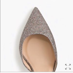 J. Crew Shoes - Jcrew Lucie glitter pumps